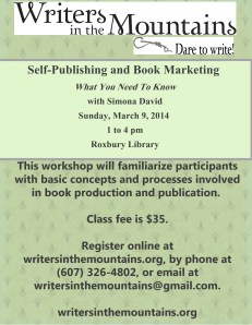 Self-Publishing Class