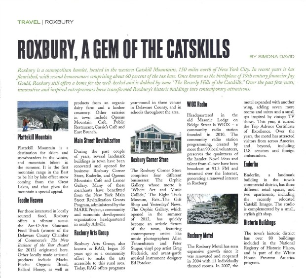 Roxbury, A Travel Piece