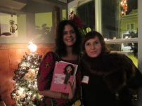 With Mercedes Gonzalez, Author of Chronicles of a Fashion Buyer