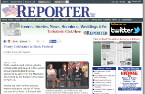 WIM Book Festival in The Walton Reporter April 2015